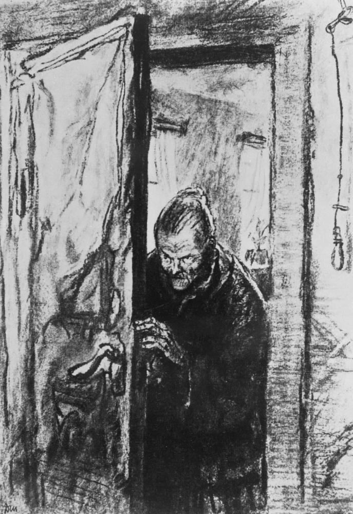 Д. А. Шмаринов. Иллюстрация к роману Ф. М. Достоевского