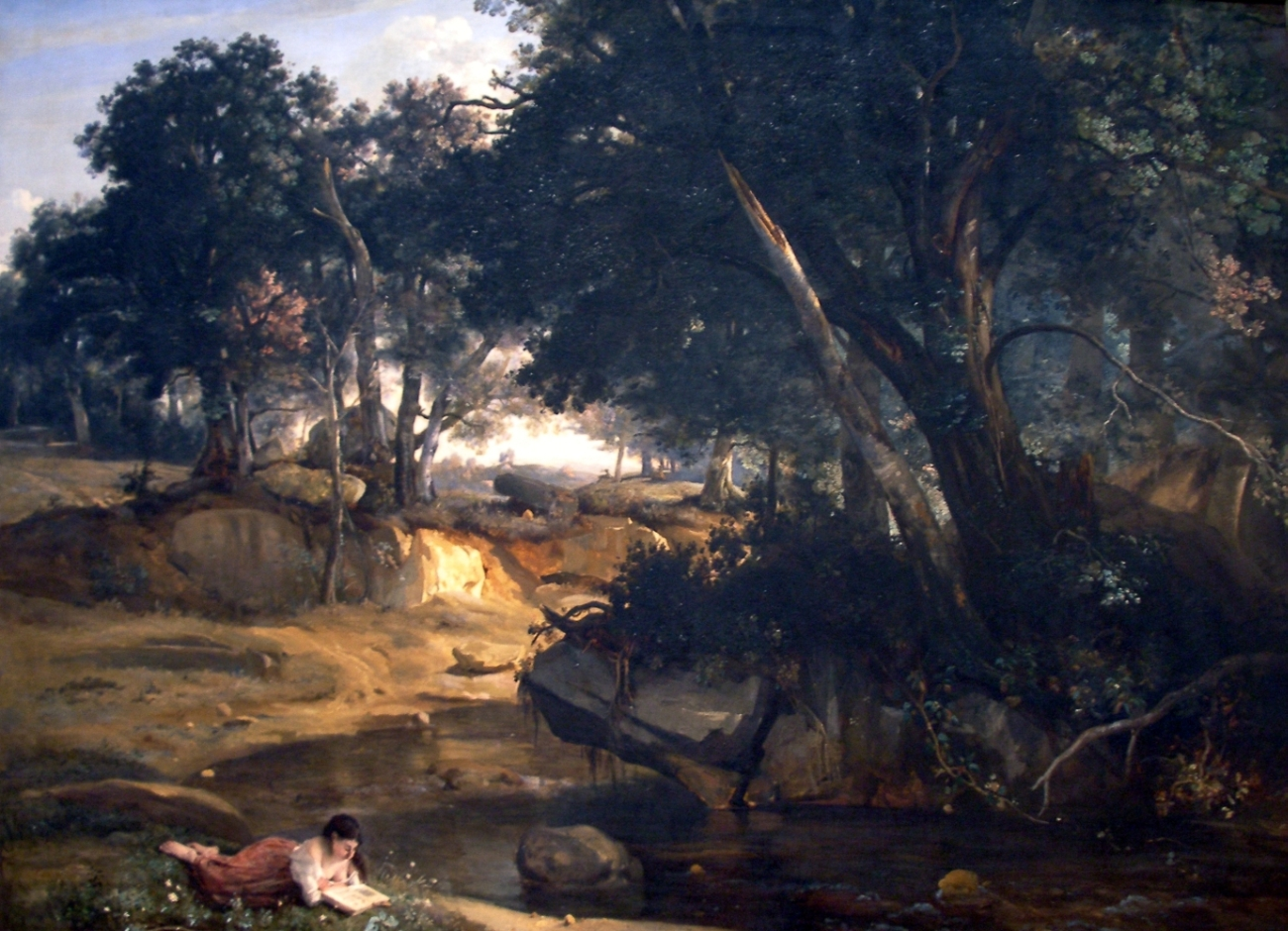 Forest of Fontainebleau-1830