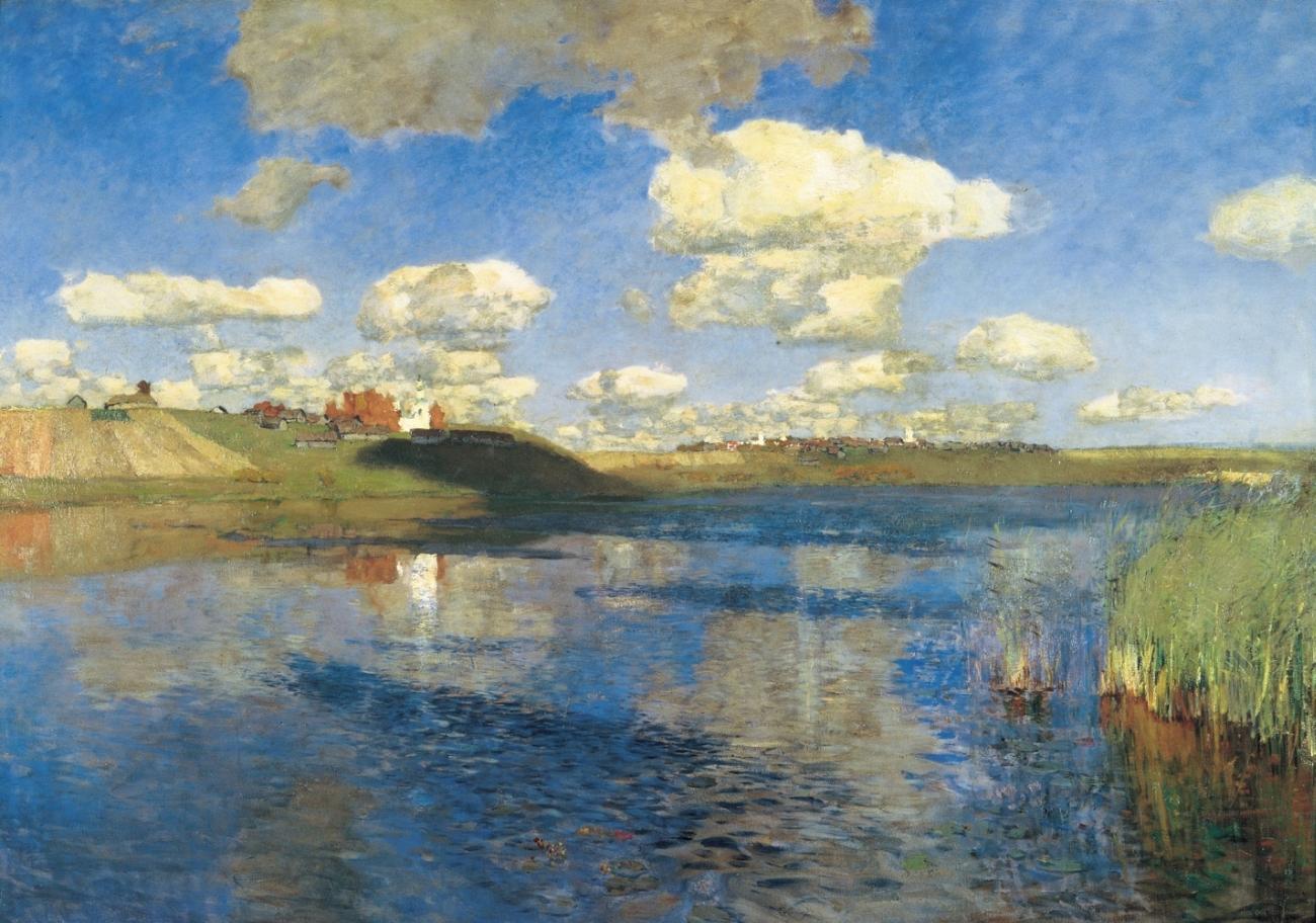 Русь. Озеро