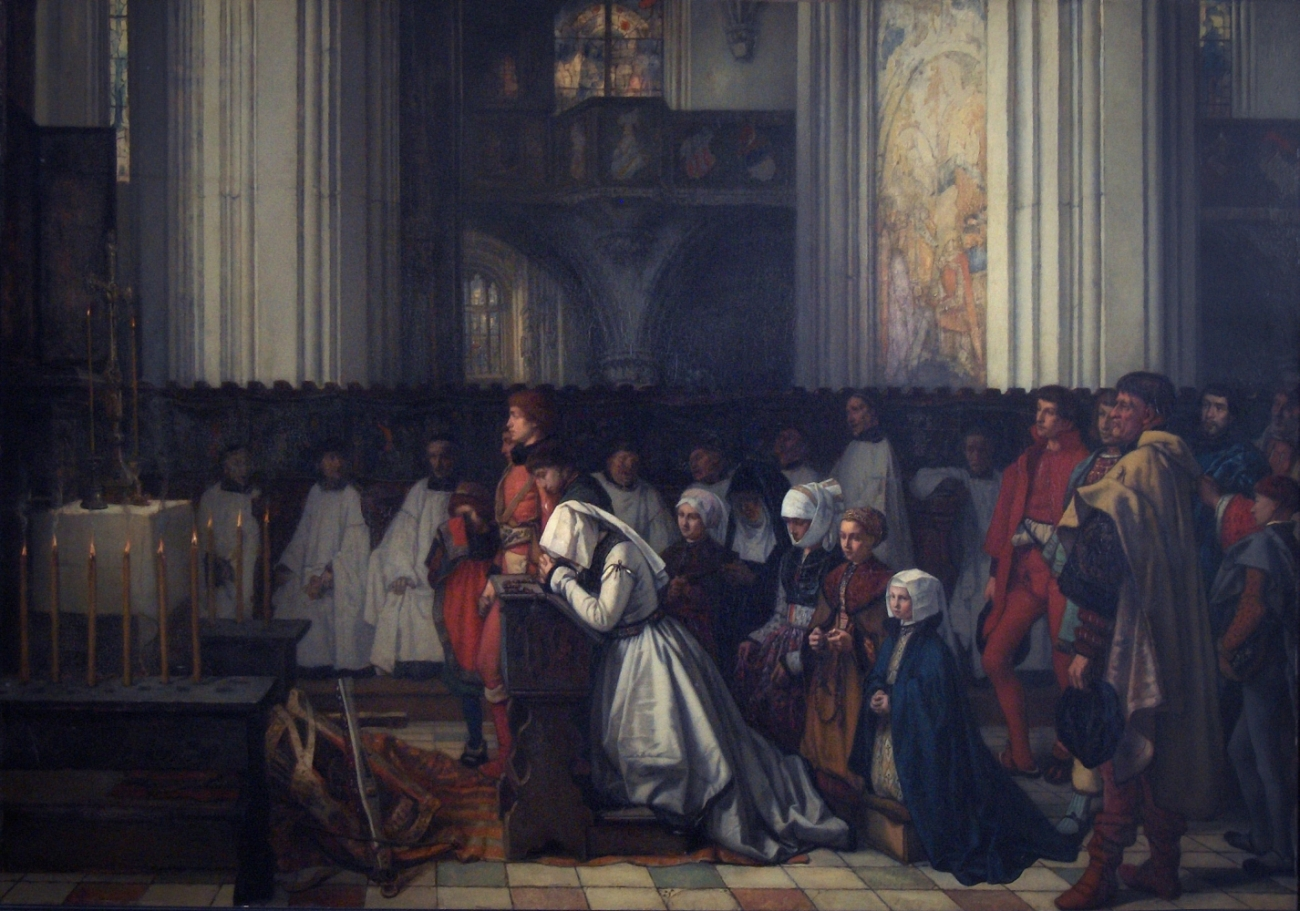 The Trental Mass for Berthal de Haze (1854), Royal Museum of Fine Arts, Brussels, Belgium