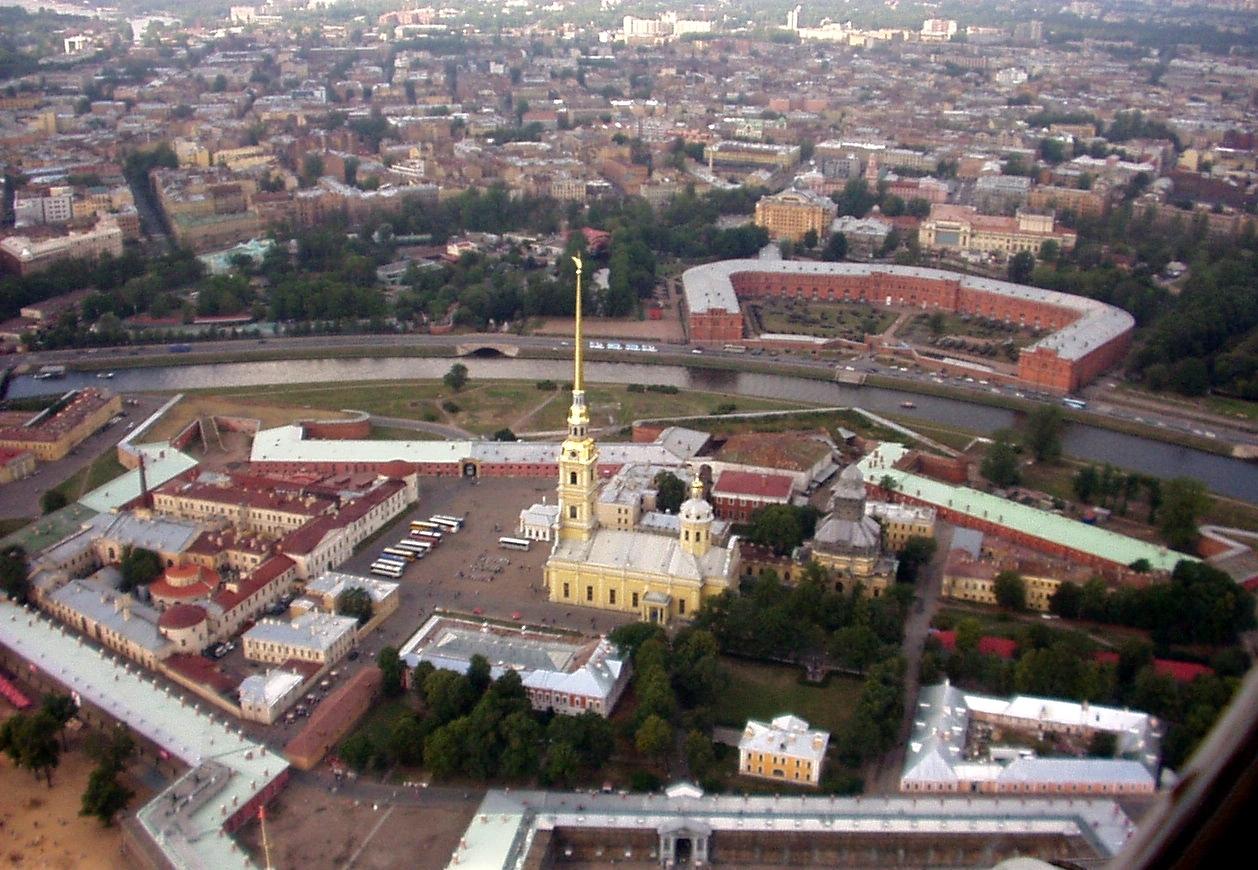 Петропавловская крепость1