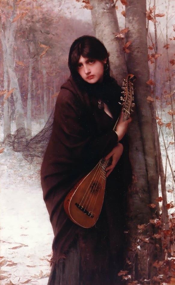 «Девушка с мандолиной»