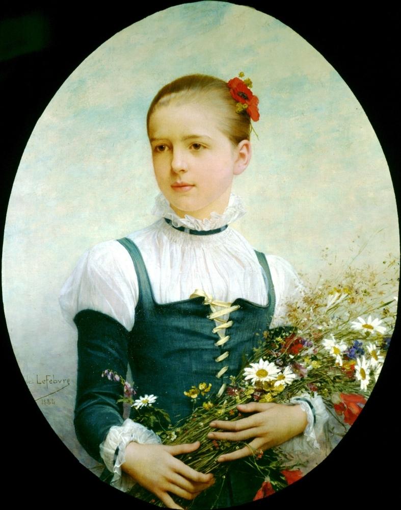 Portrait of Edna Barger of Connecticut