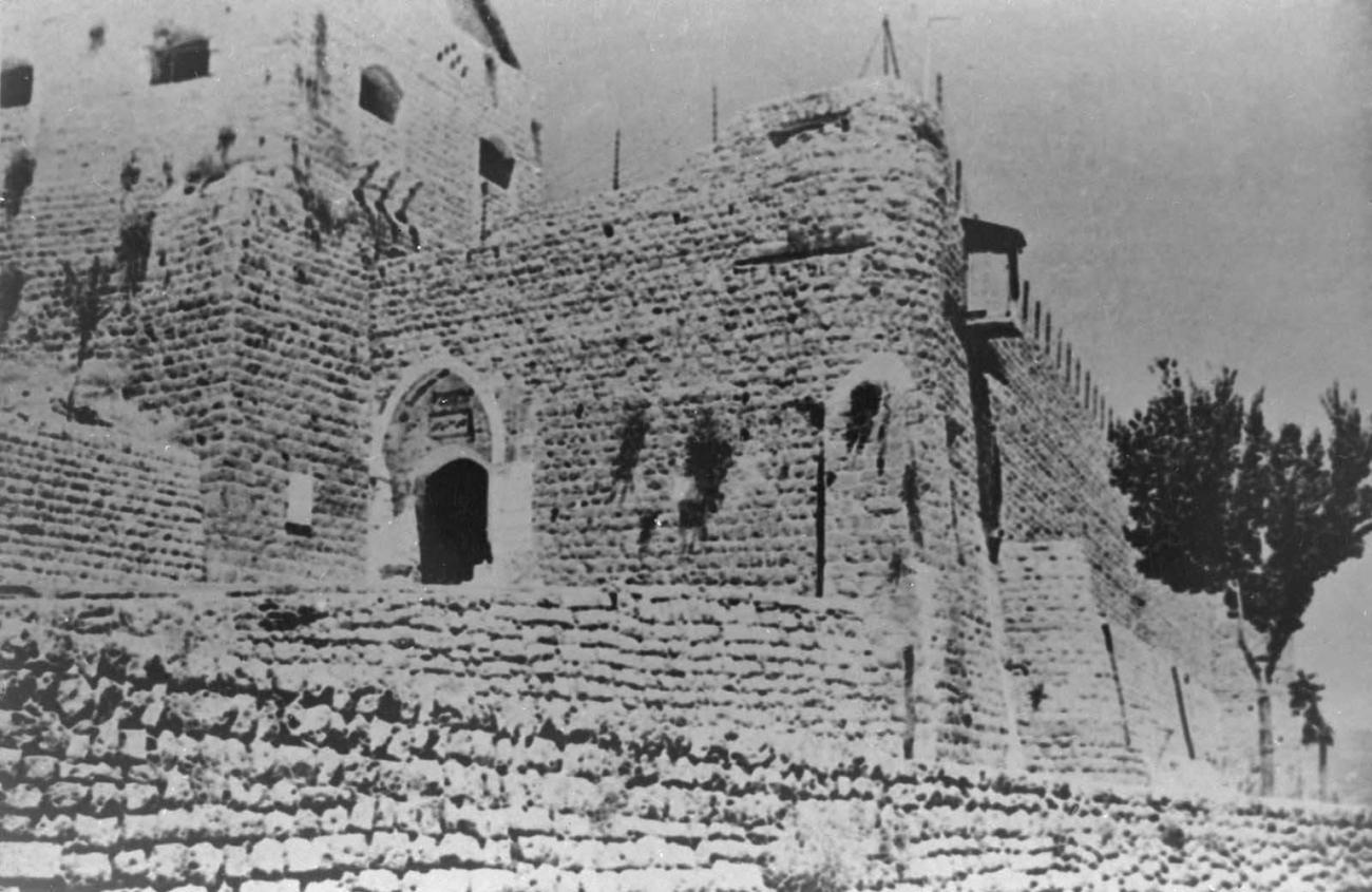 Замок в Рашае. 13 в.