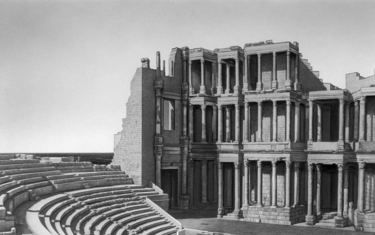 Театр в Сабрате. Кон. 2 в.