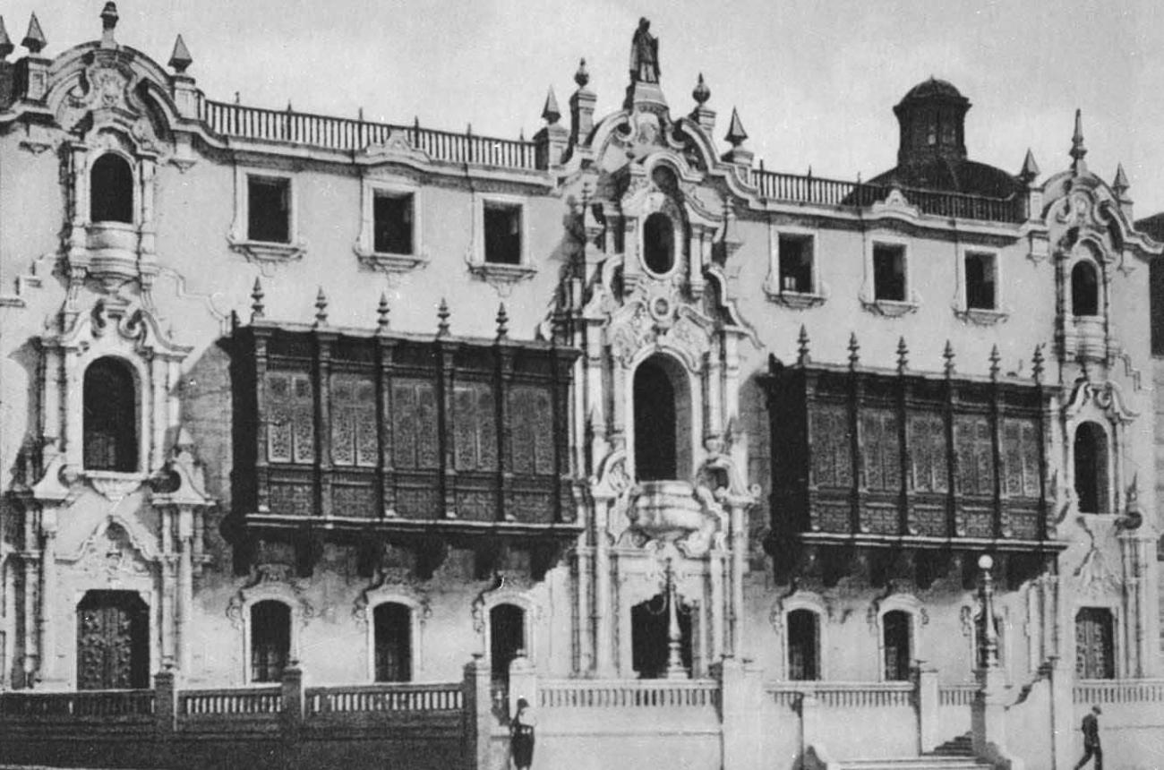 Архиепископский дворец. Нач. 20 в.