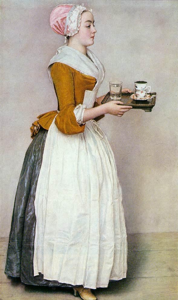 «Шоколадница», 1744, Дрезденская галерея