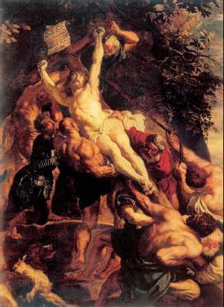воздвижение креста рубенса: