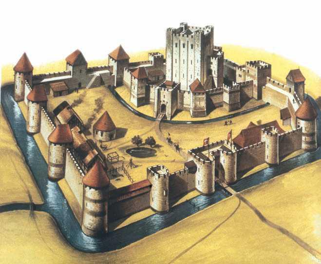 Схемы и чертежи замков