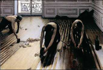 Г. Кайботт. «Паркетчики». 1875г. Музей д'Орсэ. Париж