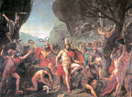 историческая живопись это Что такое историческая живопись  Ж Л Давид Леонид при Фермопилах 1814 г Лувр