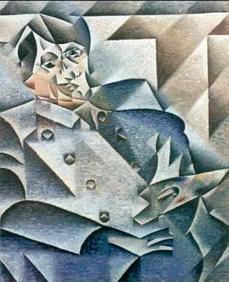 Х. Грис. Портрет П. Пикассо. 1912г. Художественный институт. Чикаго