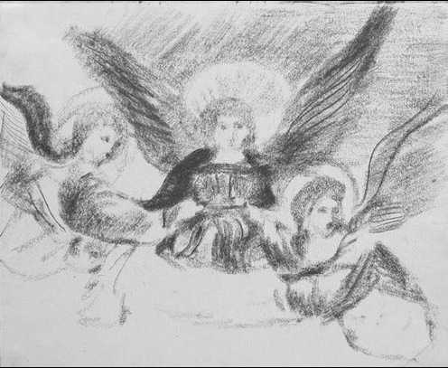 В. Н. Чекрыгин. «Троица». 1922г. Частное собрание