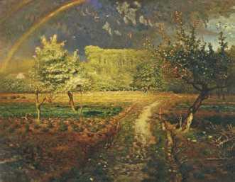 Ж. Ф. Милле. «Весна». 1868—73гг. Музей д'Орсэ. Париж