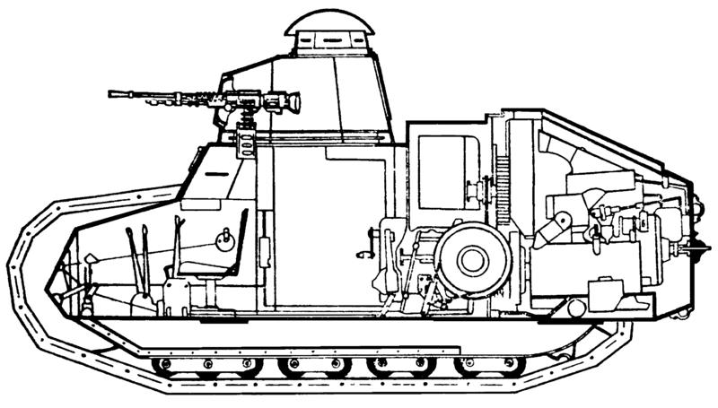 Этот танк уникален тем,