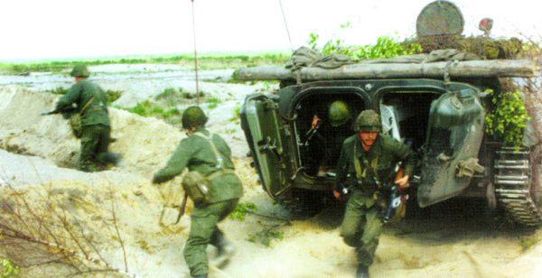Боевые машины пехоты бмп 1 бмп 2