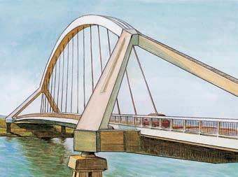 Вантовый мост в г севилья испания