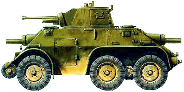 Бронеавтомобиль DAF M-39