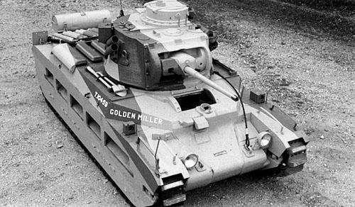 "Пехотный танк Mk II ""Матильда"""