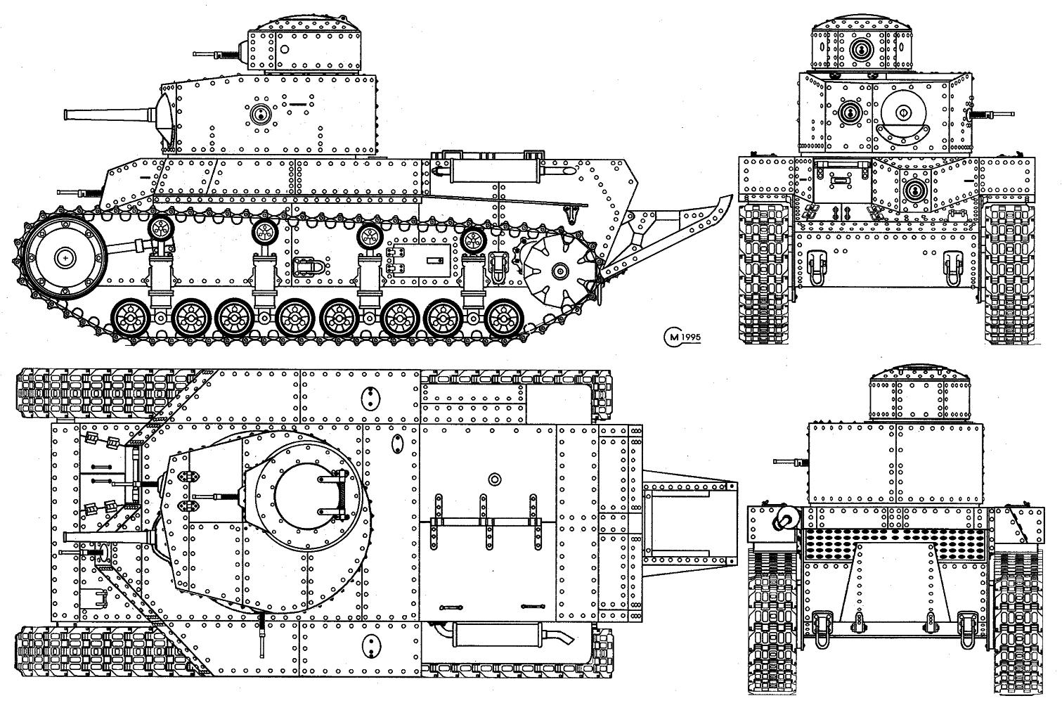 Средний танк Т-12/Т-24