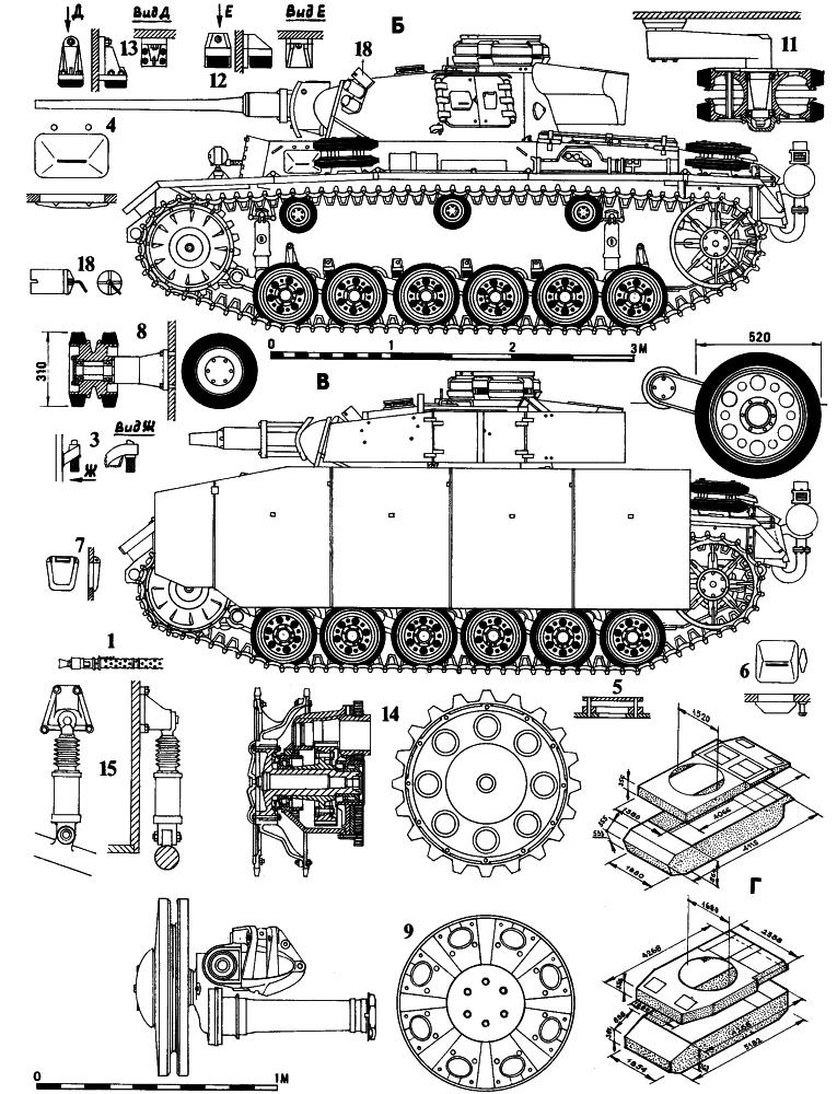 танки Pz I и Pz II (см.