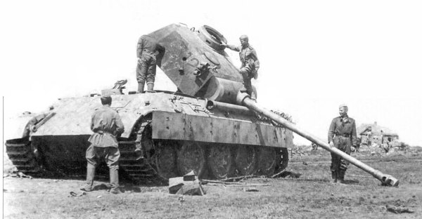 3 июля в журнале военных действий 48 танкового корпуса была сделана запись о том, что «танки «Пантера» не имеют навыка тактического взаимодействия в составе батальона, а <a href=