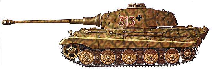"B ""Тигр II"" (""Королевский"
