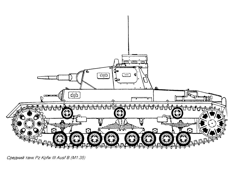 Тема средний немецкий танк pz kpfw iii