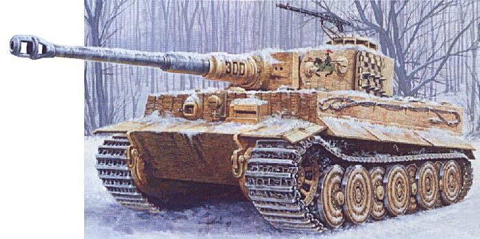 """H """"Тигр"""" """"> Тяжелый танк Pz VI"""