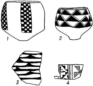 Расписная керамика Анау.