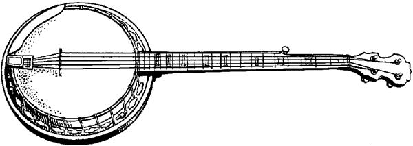 Банджо.