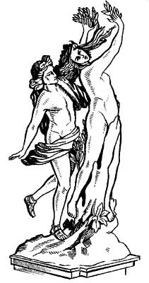 Л.Бернини. «Аполлон и Дафна».