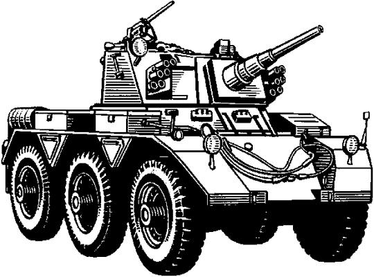 Бронеавтомобиль «Саладин» (Великобритания).