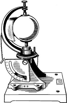 Гелиограф для регистрации продолжительности солнечного сияния.