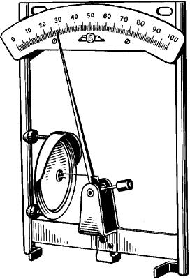 Гигрометр с органической плёнкой.