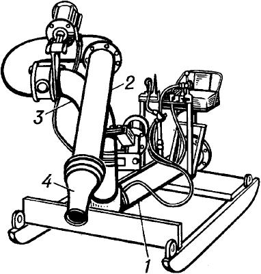 Гидромонитор с дистанционным управлением.