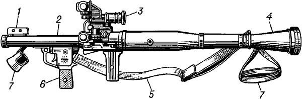 Ручной противотанковый гранатомёт многоразового действия.