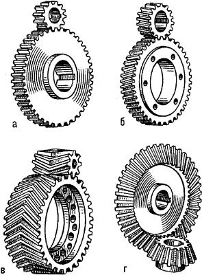 Зубчатые колёса.