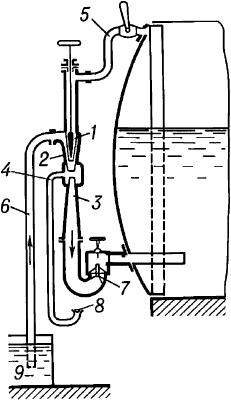 Схема работы инжектора.