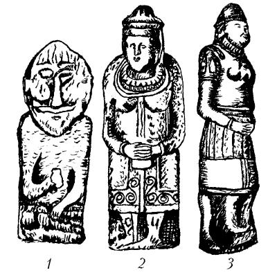 Каменные бабы.