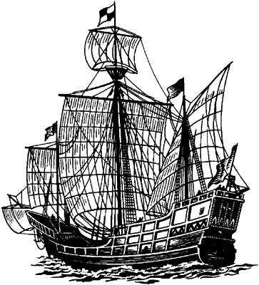 Каравелла Колумба «Санта Мария».