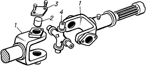 Жёсткий карданный механизм.