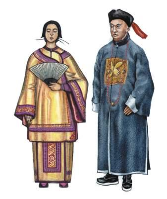 Китайцы.
