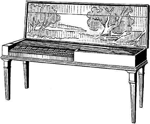 Клавикорд.