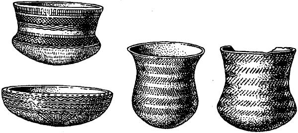 Керамика культуры колоколовидных кубков.