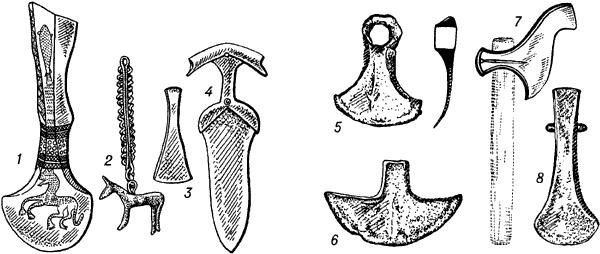 Колхидская культура. Бронзовые и железные предметы.