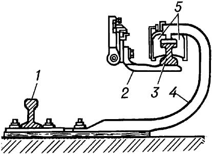 Схема размещения контактного