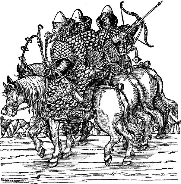 Русская поместная конница.