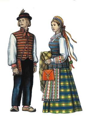 Литовцы.