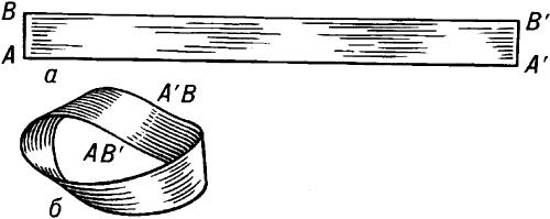 Построение листа Мёбиуса.
